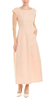 Lafayette 148 New York Jayden Linen-Blend Maxi Dress