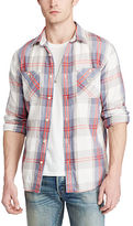 Denim & Supply Ralph Lauren Plaid Cotton Twill Shirt