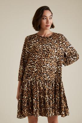 Seed Heritage Leopard Swing Dress