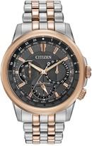 Citizen Men's Eco-Drive Calendrier Two-Tone Bracelet Watch