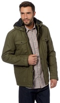Wrangler Big And Tall Khaki Water Resistant Envy Field Jacket