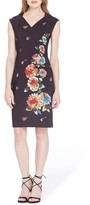 Tahari Women's Floral Sheath Dress