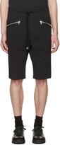 Markus Lupfer Black Zip Pockets Lounge Shorts