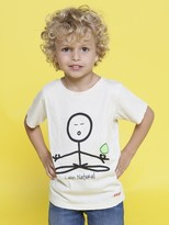 Peace Love World I am Natural Earth Toddler Short Sleeve Tee
