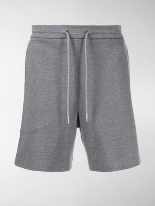Thom Browne Interlock RWB stripe mid-thigh shorts