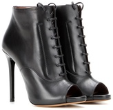 Tabitha Simmons Pace Leather Peep-toe Ankle Boots