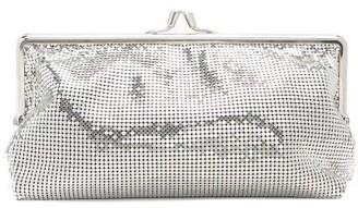 Paco Rabanne Pixel 1969 Mini Chainmail Clutch - Silver