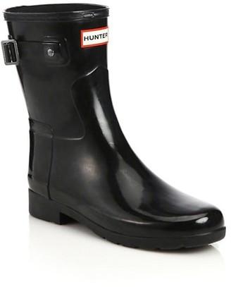 Hunter Refined Short Gloss Rain Boots