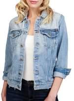 Lucky Brand Glen Cotton Denim Jacket