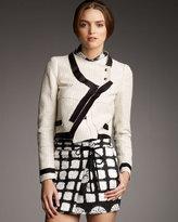 Proenza Schouler Asymmetric Tweed Jacket