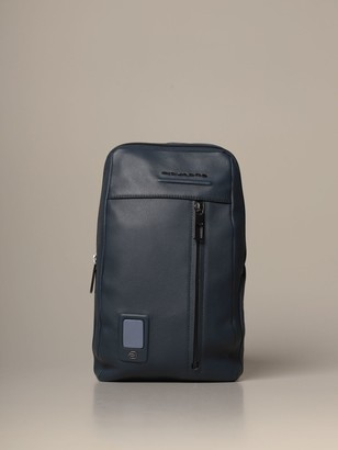Piquadro Akron Customizable Shoulder Bag For Ipad Mini