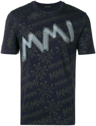Mr & Mrs Italy logo print T-shirt