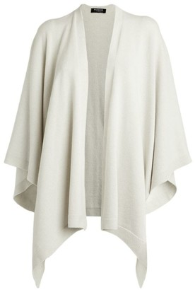 Harrods Side Button Cashmere Cape