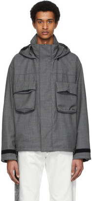 N.Hoolywood Grey Patch Pocket Jacket