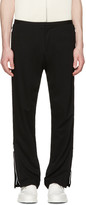 Acne Studios Black Bomere Zip Trousers