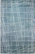 Bashian Brothers Bashian Gramercy Network Light Blue 5'6'' x 8'6'' Area Rug