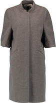 Marni Houndstooth cotton and wool-blend coat