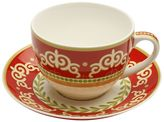 Maxwell & Williams Vivacious Cup & Saucer, Red, 200ml