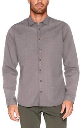 Camel Active Men's Chris Kent 1/1 Casual Shirt,(Size: Medium)