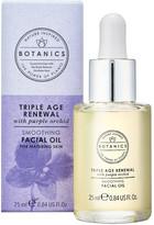 Botanics Triple Age Renewal Smoothing Facial Oil