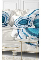 Abstract Agate Crystal Lumbar Pillow East Urban Home