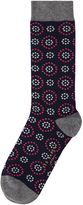 Ted Baker Men's Norria Organic Cotton Circle and Spot Socks