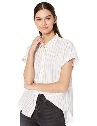 Goodthreads Lightweight Poplin Short-sleeve Button-front ShirtXXL