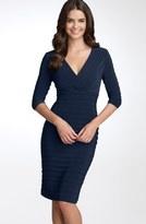 Adrianna Papell Pleated Jersey Sheath Dress (Regular & Petite)