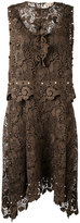 No.21 embellished lace dress - women - Silk/Polyester/Acetate - 40
