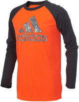 adidas Logo-Print Shirt, Little Boys (4-7)