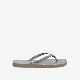 Joe Fresh Men's Flip Flop, Dark Grey (Size 11)