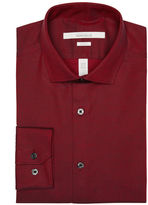 Perry Ellis Slim Fit Tiny Box Cluster Dress Shirt