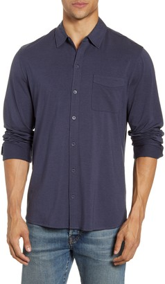 Paige Stockton Slim Fit Long Sleeve Jersey Sport Shirt