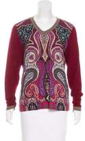 Etro Wool Paisley Top