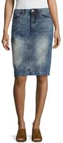 Blank NYC Mondaze Acid Wash Denim Skirt