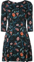 Suno floral print flared dress