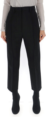 MM6 MAISON MARGIELA Cropped Straight-Leg Trousers