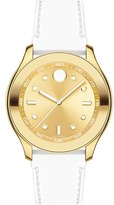 Movado Women's 'Bold' Silicone Strap Watch, 38Mm