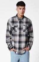 RVCA Highland Plaid Flannel Long Sleeve Button Up Shirt