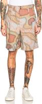 Kolor Printed Shorts