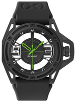 2xist The NYC Black Silicone Watch, 46mm