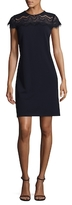 Donna Ricco Solid Cocktail Dress