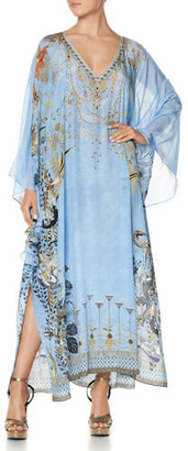 Camilla Fairy Fountain Raglan Sleeve Kaftan