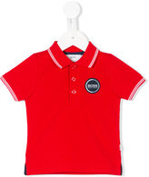 Boss Kids - logo patch polo shirt - kids - Cotton - 6 mth