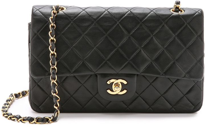 Chanel What Goes Around Comes Around 10'' Shoulder Bag