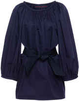 Martin Grant Belted Three Quarter Sleeve Blouse