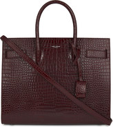 Saint Laurent Sac De Jour faux-croc leather tote
