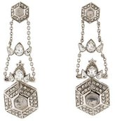 Roberto Cavalli Crystal Drop Earrings