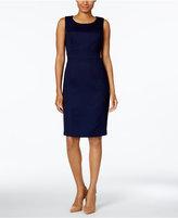 Kasper Petite Jacquard Sheath Dress