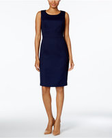 Kasper Seamed Sheath Dress